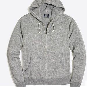 J Crew Perfect full zip soft comfortable hoodie